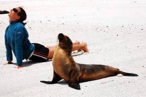 synchronized yoga