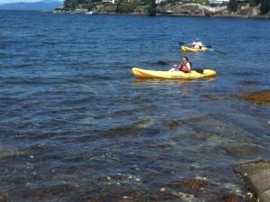 kayaking at Parksville
