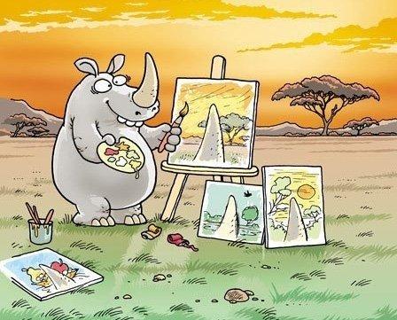 rhino artist