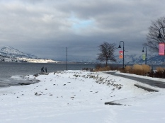 looking north onto Okanagan lake