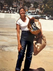 1980ish, Sue shopping in Mexico