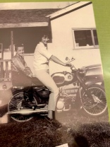 Mom and I in Quesnel BC 1964ish, cowboy boots!