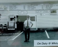 yes it's me at 16, a carhop at White Spot. I worked across from the Bayshore Inn down by Stanley Park in Vancouver.