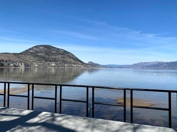 Okanagan Lake 2 days ago, looking terrific
